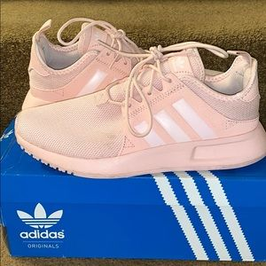 ADIDAS PEACH/PINK SHOES